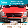 Chiptuning Mercedes-Benz Sprinter 313 CDI(W906) OM 651 DE 22LA, 129 PS