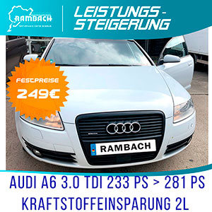 Rambach Einzelpaket-Chiptuning Stage.Individual Audi A5, 3.0 TDI, Cabrio